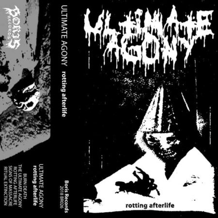 Ultimate Agony cover art